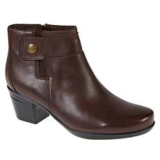 Collection by Clarks Emslie Jada Water-Resistant Leather Ankle Boot