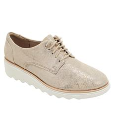 Collection by Clarks Sharon Crystal Leather Oxford