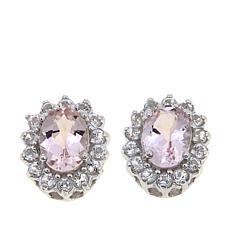 Colleen Lopez 2.50ctw Gem and White Topaz Stud Earrings