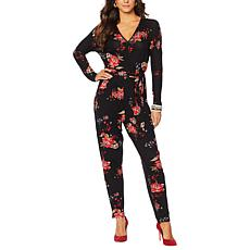 Colleen Lopez Belted Jumpsuit with Pockets