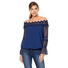 f2413f7f468 Colleen Lopez C est Magnifique Off-the-Shoulder ...