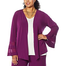 Colleen Lopez Mesh Inset Topper