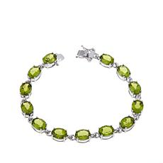 "Colleen Lopez ""Pretty Package"" Peridot Line Bracelet"