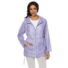 Colleen Lopez Rainy Days Lace Water-Resistant Anorak