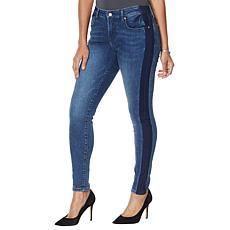 Colleen Lopez Side Stripe Skinny Jean  - Basic