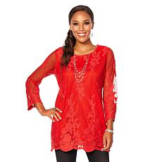 Colleen Lopez Sweet Sophistication Lace Top