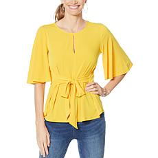 Colleen Lopez Tie Front or Back Top
