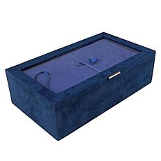 Colleen's Prestige™ 3-piece Brushed Fabric Jewelry Box