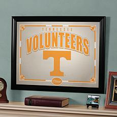 Collegiate Sports-Team Framed Mirror - TN Volunteers