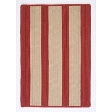 Colonial Mills Boat House 2' x 8' Rug - Rust Red