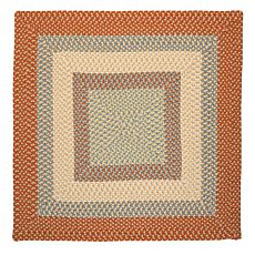 Colonial Mills Montego 8' Square Rug - Tangerine