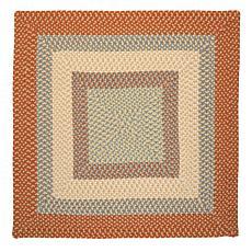 Colonial Mills Montego 8' Square Rug - Tangerine