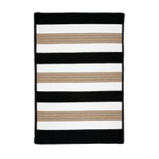 Colonial Mills Portico 5' x 8' Rug - Sharp Black