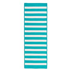 Colonial Mills Stripe It 2' x 8' Rug - Turquoise