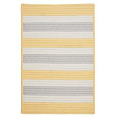 Colonial Mills Stripe It 3' x 5' Rug - Yellow Shimmer