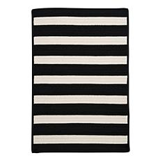 Colonial Mills Stripe It 5' x 8' Rug - Black/White