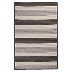 Colonial Mills Stripe It 5' x 8' Rug - Silver