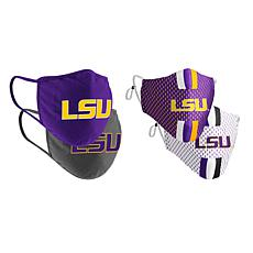 Colosseum Collegiate NCAA Team Logo Face Covering 4-Pack - LSU