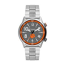 Columbia Men's Outbacker Clemson Stainless Steel Bracelet Watch