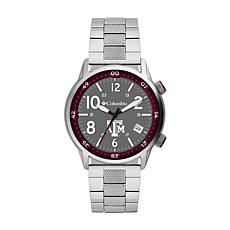 Columbia Men's Outbacker Texas A&M Stainless Steel Bracelet Watch