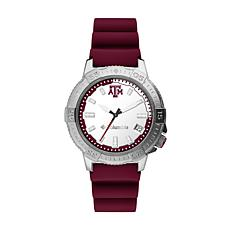 Columbia Men's Peak Patrol Texas A&M Silicone Strap Watch