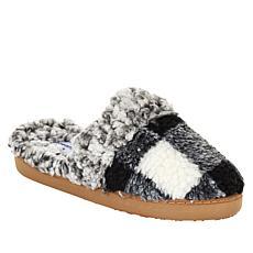 Comfort Code Buffalo Plaid Faux Sherpa-Lined Clog Slipper