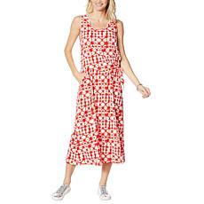 Comfort Code Jersey Knit Asymmetric Dress