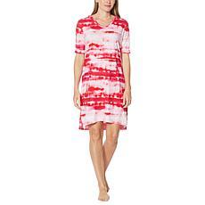 Comfort Code Pullover Hoodie Dress with Kangaroo Pocket