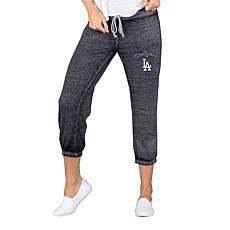 Concepts Sport LA Dodgers Women's Knit Capri Pant