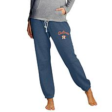 Concepts Sport Mainstream Ladies Knit Pant - Astros