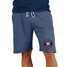 Concepts Sport Mainstream Men's Knit Short - Astros
