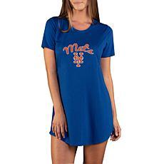 Concepts Sport Marathon Ladies Knit Nightshirt - Mets