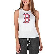 Concepts Sport Officially Licensed MLB Ladies Knit Tank Top Red Sox