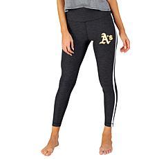Concepts Sport Officially Licensed MLB Ladies Legging - Athletics