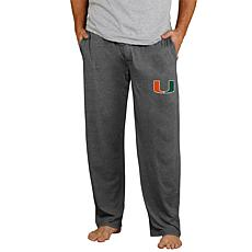 Concepts Sport Officially Licensed NCAA Quest Men's Knit Pant Miami