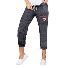 Concepts Sport Washington Nationals Women's Knit Capri Pant