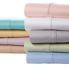 Concierge 4-piece Wrinkle-Resistant 400TC Cotton Twin Sheet Set