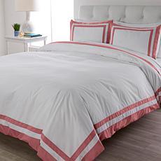 Concierge Collection 100% Cotton Hotel Duvet Set