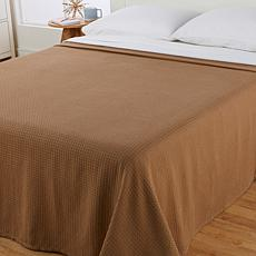 Concierge Collection 100% Cotton King/Cal King Waffle Blanket