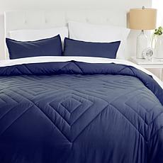 Concierge Collection 100% Cotton Pre-Washed Comforter Set