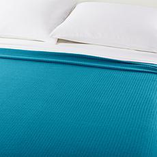 Concierge Collection 100% Cotton Twin Blanket