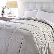 Concierge Collection 100% Cotton White Goose Down Comforter
