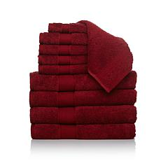 Concierge Collection 100% Turkish Cotton 10pc Towel Set