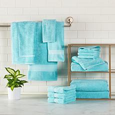 Concierge Collection 100% Turkish Cotton 14-pc Resort Bath Towel Set