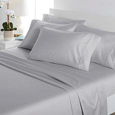 Concierge Collection 1000TC Tri-blend Sheet Set with Extra Pillowcases