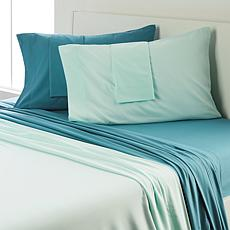 Concierge Collection 2-pack Microfiber Solid Sheet Set