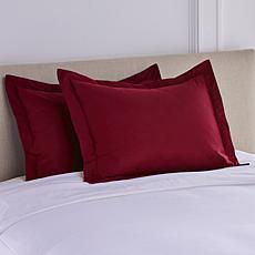 Concierge Collection 2-piece Microfiber Pillow Shams
