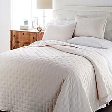 Concierge Collection 3-piece Stonewashed Quilt Set