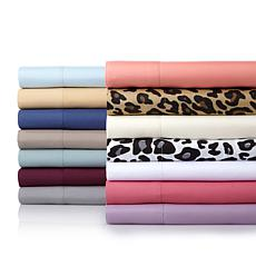 Concierge Collection 4pc Microfiber Sheet Set Cal King