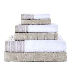 Concierge Collection 6-piece Mix & Match 100% Turkish Cotton Towel Set